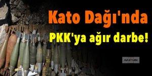 Kato Dağı'nda PKK'ya ağır darbe!