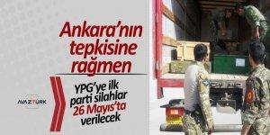 Ankara'nın tepkisine rağmen, YPG'ye ilk parti silahlar 26 Mayıs'ta verilecek