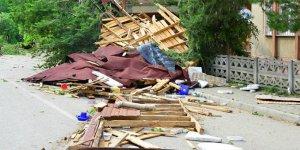 Tokat'ta fırtına: 5 yaralı!