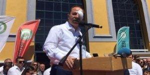 CHP'li başkana yumurtalı saldırı! Gözü çıkıyordu