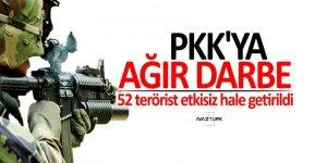 İçişleri Bakanlığı açıkladı: PKK'ya ağır darbe