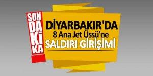 Diyarbakır' da 8 Ana Jet Üssü'ne saldırı girişimi