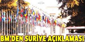 BM'den 'Suriye'de krematoryum' açıklaması!