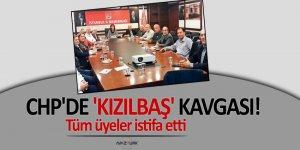 CHP'de 'Kızılbaş' kavgası partiyi yine karıştrdı! Üyelerinin tamamı istifa etti