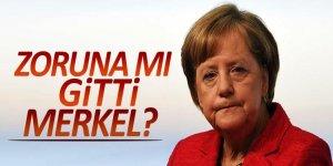 Zoruna mı gitti Merkel?