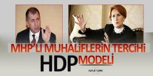 MHP'li muhaliflerin tercihi HDP modeli
