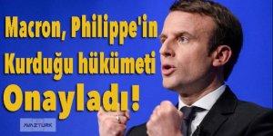 Macron, Philippe'in kurduğu hükümeti onayladı!