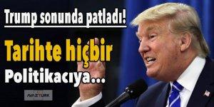 Trump sonunda patladı!