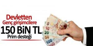 Devletten gençlere 150 bin TL prim desteği