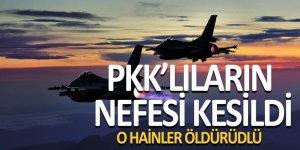 Hakkari'de hava operasyonu: 6 PKK'lı öldürüldü