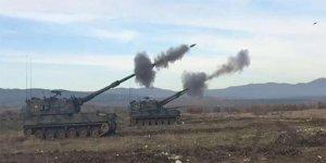 Terör örgütü PKK sınırımıza top atışı yapıyor!