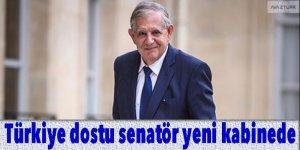 Fransa'da Türkiye dostu senatör yeni kabinede