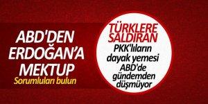 ABD'den Erdoğan'a mektup: Sorumluları bulun