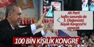AK Parti hafta sonunda da 3. Olağanüstü Büyük Kongresi'ni yapacak