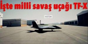 İşte milli savaş uçağı TF-X