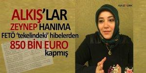 'ALKIŞ'lar AK Parti MKYK Üyesi Zeynep Hanıma: 'FETÖ tekelindeki' hibelerden 850 bin euro kapmış!