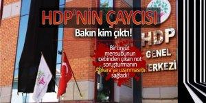 HDP'nin çaycısı bakın kim çıktı!