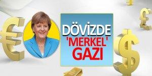 Dövizde 'Merkel' gazı