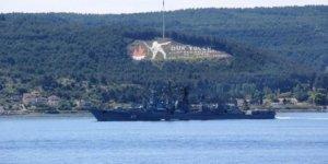 Rus gemi Boğaz'dan geçti!