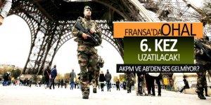 Fransa'da OHAL 6. kez uzatılacak!