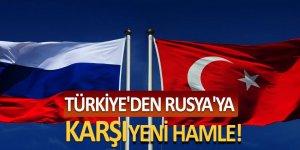 Türkiye'den Rusya'ya karşı yeni hamle!