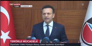 Aksoy: 'Sur'un yüzde 98 teröristlerden temizlendi'