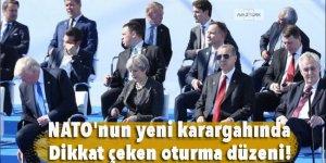 NATO'nun yeni karargahında dikkat çeken oturma düzeni!