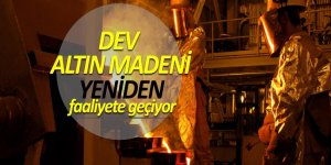 Mastra Altın Madeni yeniden faaliyete geçiyor