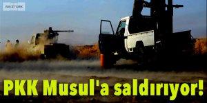 Terör örgütü PKK, Musul'a saldırıyor!