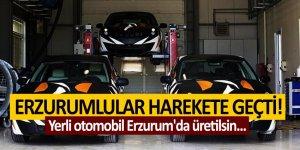 Erzurumlular harekete geçti! Yerli otomobil Erzurum'da üretilsin...