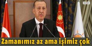 Erdoğan: Milletimizin karşısına 180 günlük eylem planı ile çıkacağız