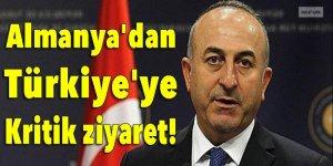 Almanya'dan Türkiye'ye kritik ziyaret!