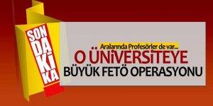 Üniversitede operasyon: Profesörler gözaltında!