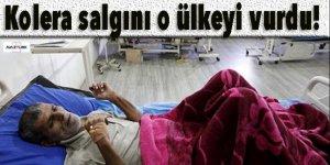 Kolera salgını o ülkeyi vurdu!