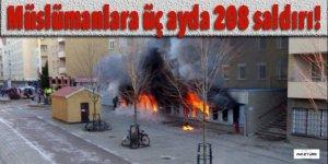 Almanya'da Müslümanlara üç ayda 208 saldırı!