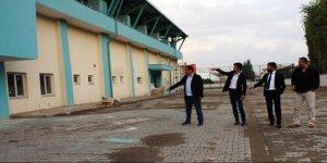 Çubukspor Kulüp Başkanı Akkaya Şehir Stadı'nı inceledi
