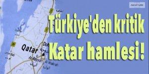 Türkiye'den kritik Katar hamlesi