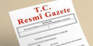 HSK kararı Resmi Gazete'de yayımlandı