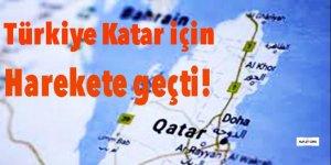 Türkiye Katar için harekete geçti!