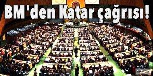 BM'den Katar çağrısı!