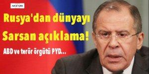 Rusya'dan dünyayı sarsan açıklama: ABD ve terör örgütü PYD, DAEŞ'le anlaştı!