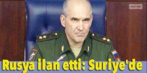 Rusya ilan etti: Suriye'de iç savaş artık bitti!