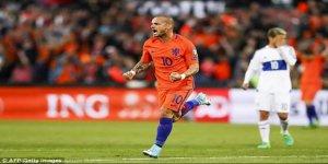 Sneijder'den tarihi rekor