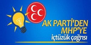 AK Parti'den MHP'ye içtüzük çağrısı