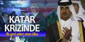 Katar krizinde ilk geri adım atan ülke