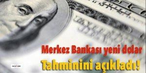 Merkez Bankası yeni dolar tahminini açıkladı!