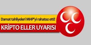 Damat tahliyeleri MHP'yi rahatsız etti