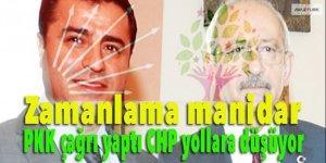 Zamanlama manidar: PKK çağrı yaptı CHP yollara düşüyor