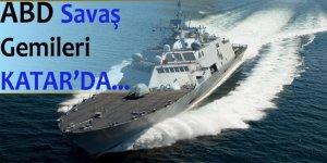 ABD savaş gemileri Katar'da