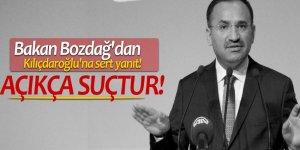 Bakan Bozdağ'dan Kılıçdaroğlu'na sert yanıt!